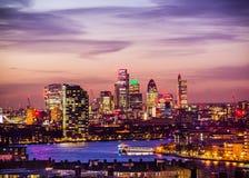 Miasto Londyn, Greenwich park Zdjęcia Royalty Free