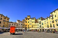 Miasto Lucca, Włochy fotografia royalty free