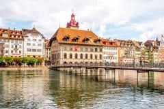 miasto lucerna Switzerland Zdjęcia Royalty Free