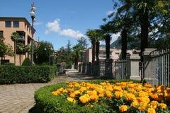 miasto Lugano Szwajcarii Zdjęcia Stock