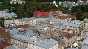 Miasto Lviv w Ukraina zdjęcia royalty free