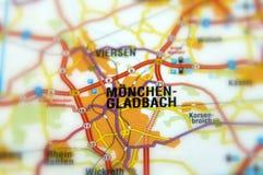 Miasto Mönchengladbach, Niemcy - obraz stock