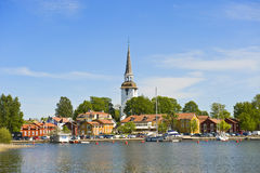 miasto mały Sweden obrazy stock