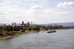 Miasto Mainz Zdjęcia Stock