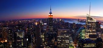miasto Manhattan nowy York Fotografia Stock