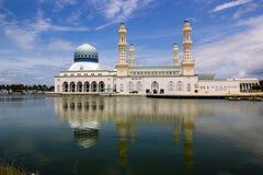 Miasto meczet Zdjęcie Royalty Free