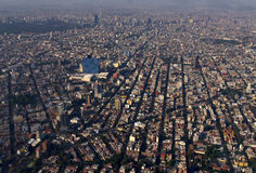 miasto Meksyk lotniczego Fotografia Royalty Free