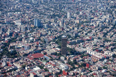 miasto Meksyk lotniczego Obraz Stock