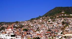 Miasto meksykański widok Fotografia Royalty Free