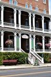 Miasto Montpelier, Waszyngtoński okręg administracyjny, Vermont Nowa Anglia Stany Zjednoczone, stolica kraju fotografia stock