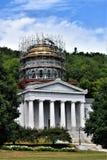 Miasto Montpelier, Waszyngtoński okręg administracyjny, Vermont, Stany Zjednoczone, stolica kraju zdjęcia stock