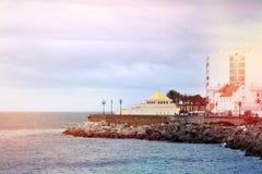 Miasto morzem Obraz Royalty Free