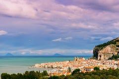 Miasto morzem Zdjęcie Royalty Free