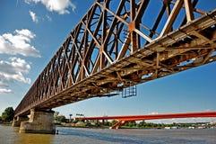 Miasto mosty Zdjęcie Stock
