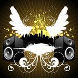 miasto muzyki royalty ilustracja
