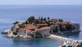 Miasto na morzu Zdjęcia Royalty Free
