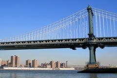 miasto na most Manhattan, nowy jork zdjęcia royalty free