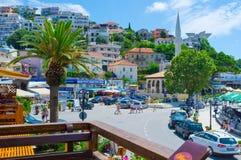 Miasto na wzgórzu zdjęcia royalty free