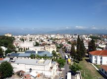miasto nad salta widok Obrazy Royalty Free