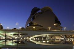 Miasto nauka i sztuki, Walencja zdjęcie royalty free