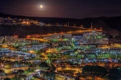 Miasto nocą Zdjęcie Royalty Free