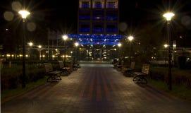 miasto noc Obrazy Royalty Free