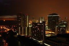 miasto noc zdjęcia royalty free
