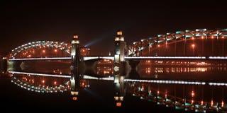 miasto nocą Obraz Royalty Free