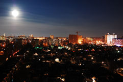 miasto noc Zdjęcia Stock