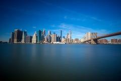 miasto nowa linia horyzontu York Zdjęcie Stock