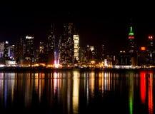 miasto nowa noc York Fotografia Royalty Free