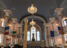 Miasto Nowy Jork świętego Pauls kaplica Zdjęcia Stock