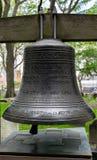 Miasto Nowy Jork świętego Pauls kaplica 9/11 Pamiątkowy Bell Obrazy Stock