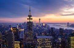 Miasto Nowy Jork Obraz Royalty Free