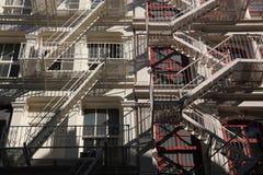 Miasto Nowy Jork architektury szczegół Fotografia Royalty Free