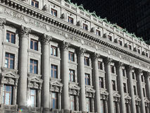 Miasto Nowy Jork architektury szczegół Zdjęcie Royalty Free