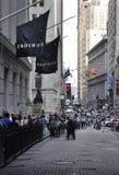 Miasto Nowy Jork, august 3rd: Federacyjny Hall Uliczny widok od Manhattan w Nowy Jork fotografia royalty free