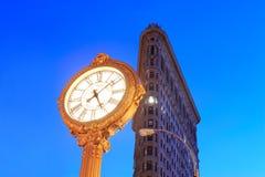 Miasto Nowy Jork Budynek Flatiron Obraz Royalty Free