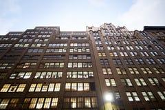 Miasto Nowy Jork budynki biurowi Zdjęcie Stock