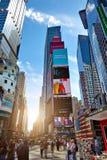 MIASTO NOWY JORK, CZERWIEC - 14, 2016: Times Square USA Fotografia Royalty Free