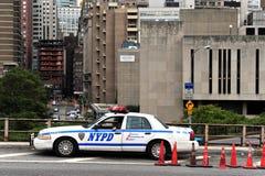 Miasto Nowy Jork departament policji NYCPD) - (NYPD - Zdjęcie Stock