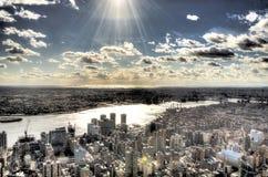 Miasto Nowy Jork - Duży Apple Zdjęcie Royalty Free