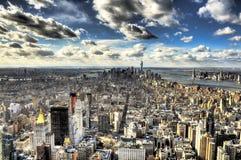Miasto Nowy Jork - Duży Apple Fotografia Stock