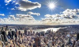 Miasto Nowy Jork - Duży Apple Obraz Stock
