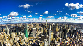 Miasto Nowy Jork - Duży Apple Zdjęcia Royalty Free