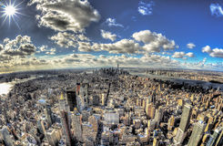 Miasto Nowy Jork - Duży Apple Fotografia Royalty Free