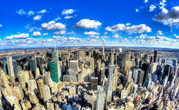 Miasto Nowy Jork - Duży Apple Zdjęcia Stock