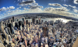 Miasto Nowy Jork - Duży Apple Obraz Royalty Free