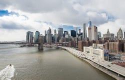 Miasto Nowy Jork - Duży Apple Obrazy Royalty Free