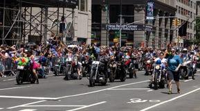 Miasto Nowy Jork dumy parada Zdjęcia Royalty Free